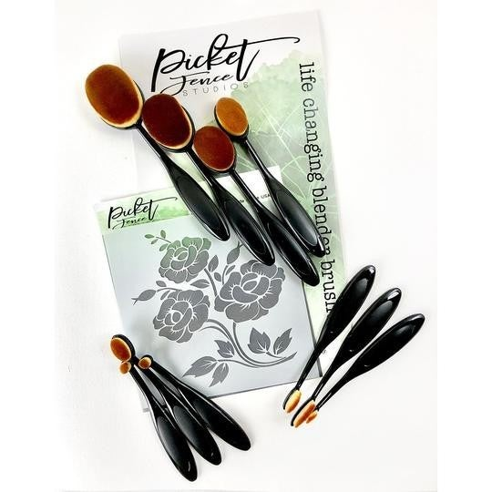 Picket Fence Studios- Life Changing Blending Brush Set: 10 pieces