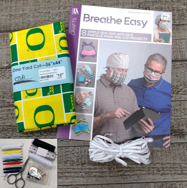 Mask Bundle Kit, University of Oregon Ducks Patch