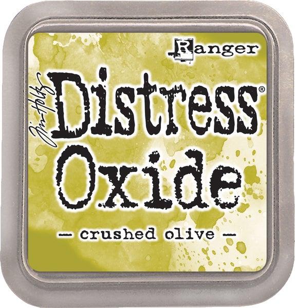 Tim Holtz Distress Oxide Ink Pad, Crushed Olive