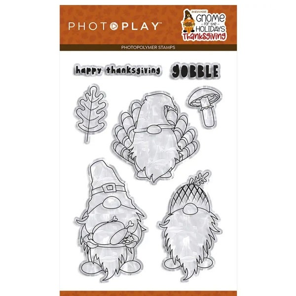 Gnome for Thanksgiving Stamp Set by Photo Play