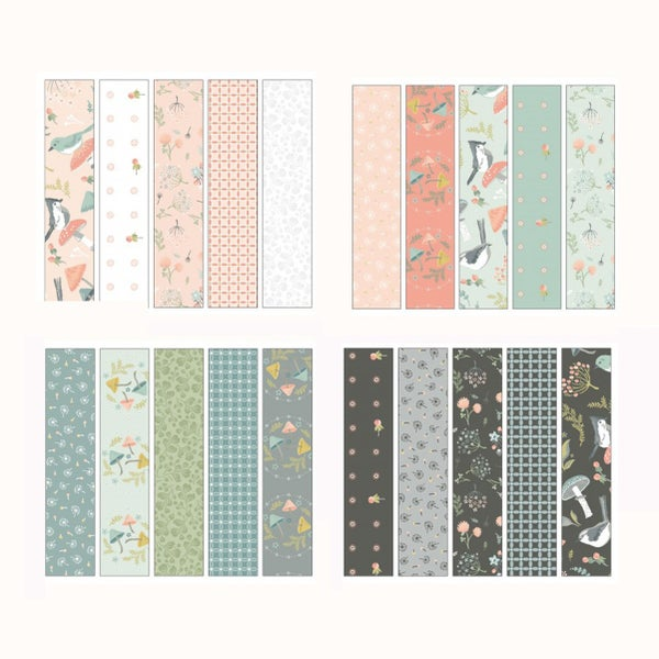 Woodland Songbirds Jelly Roll 2.5 in Strips
