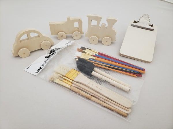Vehicle Wood Painting Kit