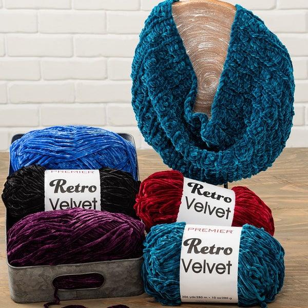 Premier Retro Velvet Yarn - 10 Colors