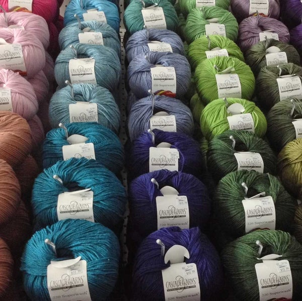 Cascade Superwash 220 - 100% Wool 220 yards