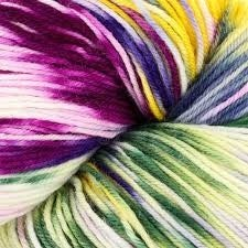 Heritage Paints 100g Skein Sock Yarn- Summer Flower