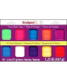 Sculpey III Brights Clay 10 Piece Set