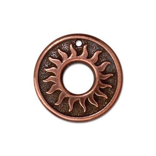 Tierra Cast- Del Sol Ring 18.5mm , Copper