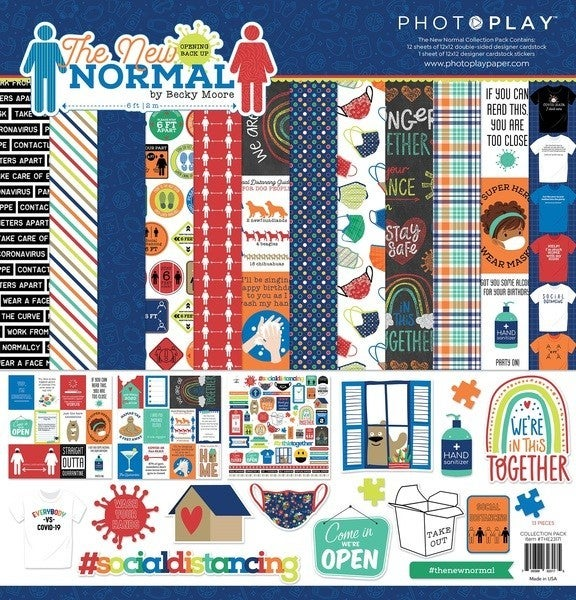 Photo Play Paper- The New Normal Collection Pack