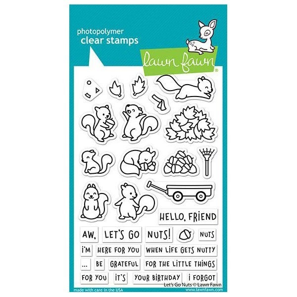 Let's Go Nuts Stamp Set  by Lawn Fawn