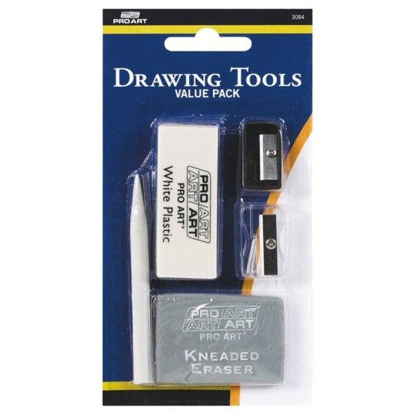 Pro Art Eraser Sharpener Stump Drawing Value Pack