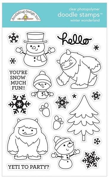 Doodlebug Design- Winter Wonderland Stamp Set