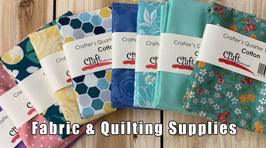 Fabric & Quilting Supplies