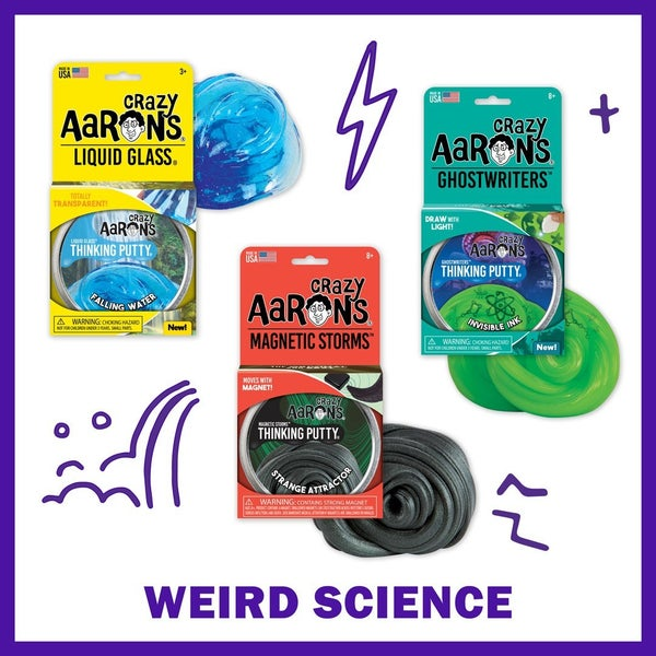Crazy Aaron's Weird Science Thinking Putty Bundle