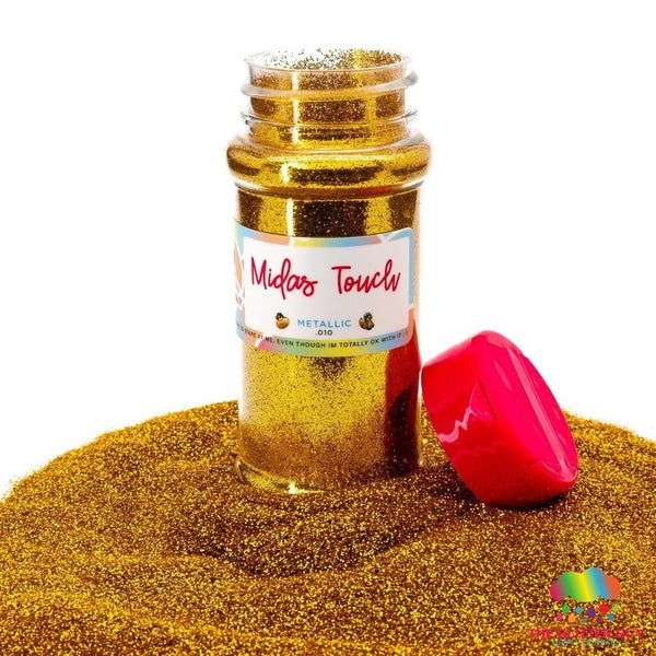 Midas Touch Gold Fine Glitter - The Glitter Guy
