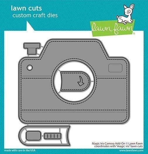 Magic Iris Camera Add-On Die Cut, Lawn Fawn