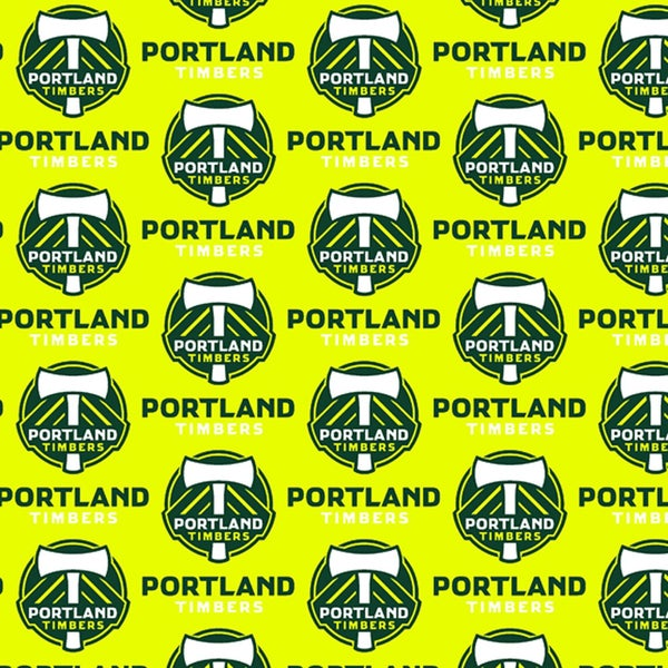 1 yard cut, Limited Qty - Major League Soccer Portland Timbers