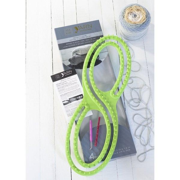 Knitting Loom Infinity Style Loom with Loom Tool