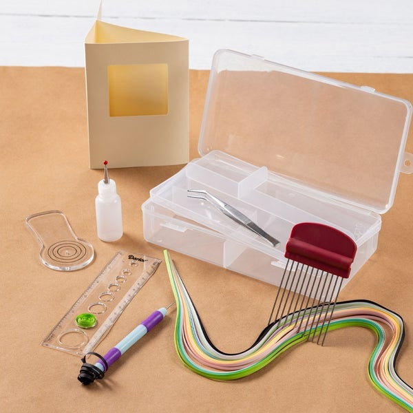 Paper Quilling Kit with Storage Box