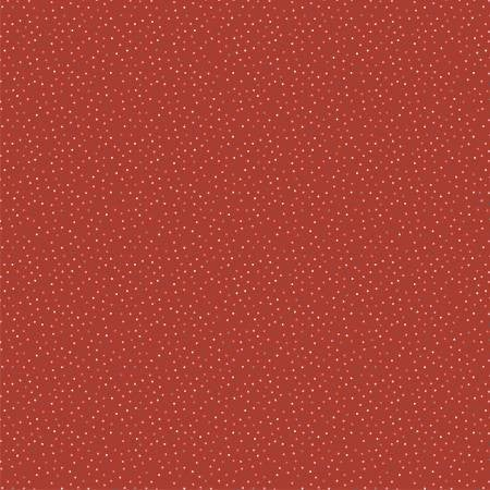 1 Yard Cut - Poppie Cotton Country Confetti Quilt Basic in Red