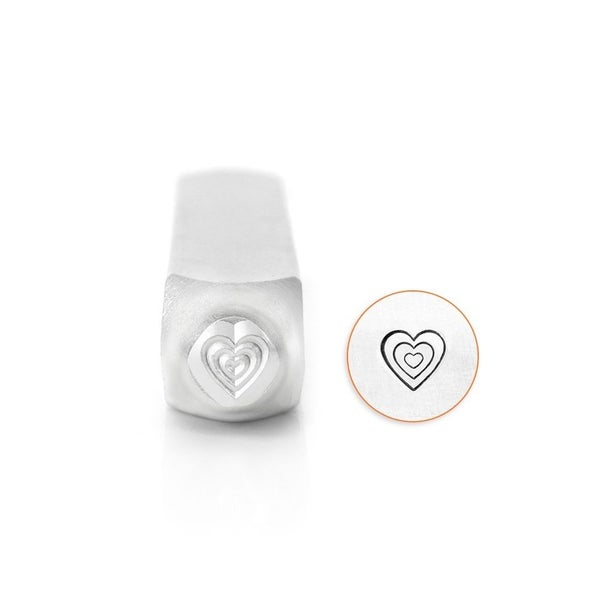 ImpressArt- Design Stamp Multi Heart 6mm