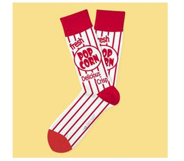 Two Left Feet- Movie Night Sock (Choose from Two Sizes)