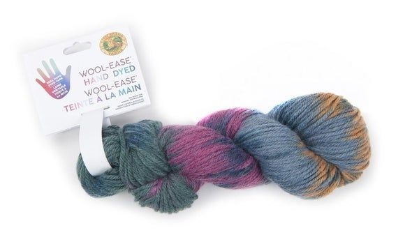 Lion Brand, Wool-Ease® Hand Dyed Yarn- Milky Way