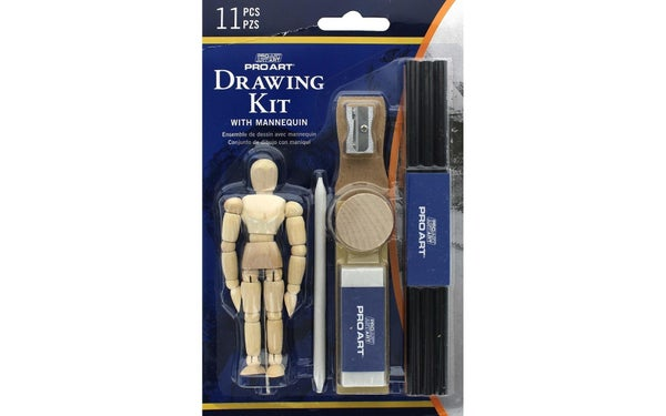 All In One Drawing Set With Mannequin