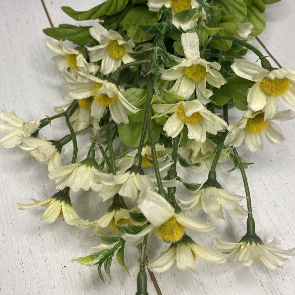 18 inch Daisy Bush, White
