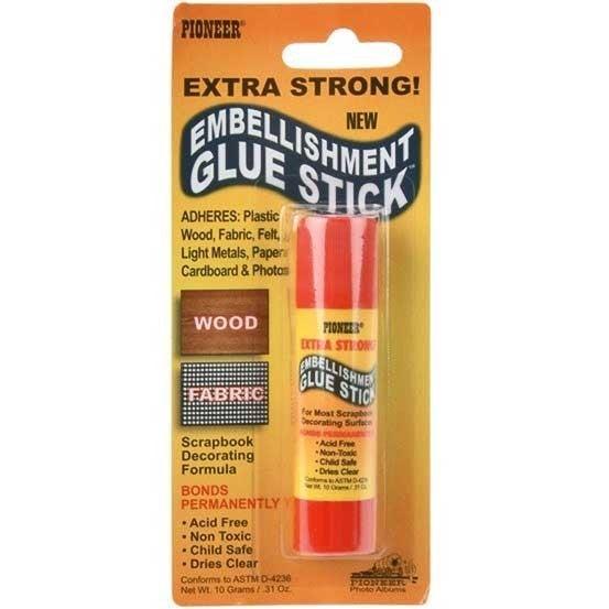 Pioneer Permanent Embellishment Glue Stick