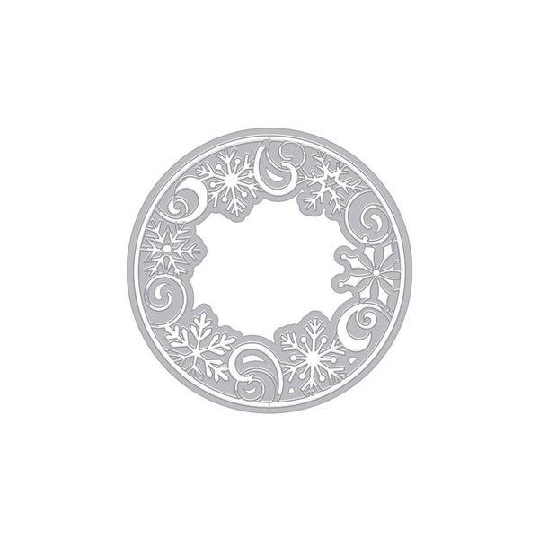 Snowflake Medallion Fancy Die Cut by Hero Arts