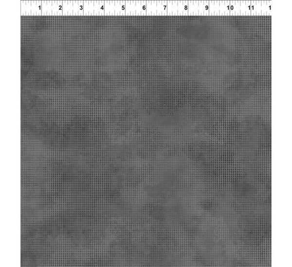 "1 Yard Cut - Jurassic Ditdot Concrete Gray Tonal Basic 36"" x 44"""