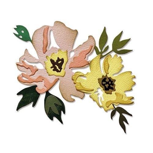 BRUSHSTROKE FLOWERS #1 TIM HOLTZ