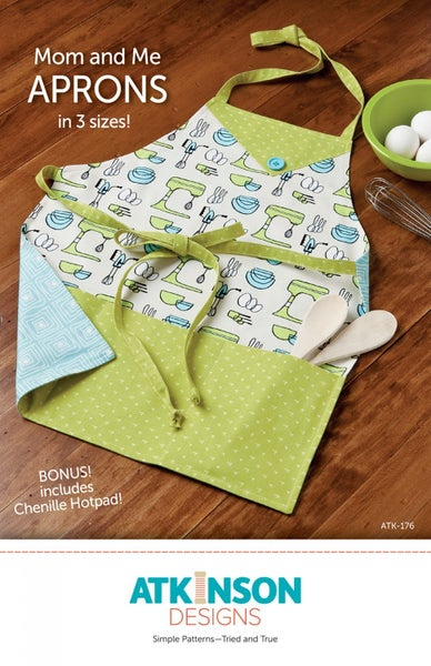 Mom and Me Apron Patterns- Atkinson Designs
