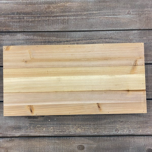 Rectangle Wood Pallet Board 10x20- Natural