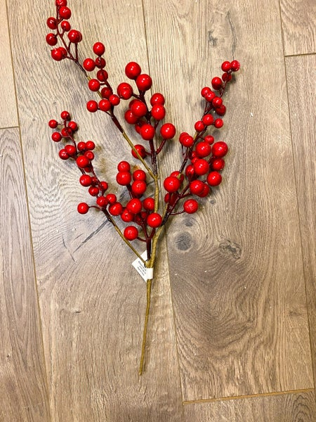 15 inch Red Berry Pick