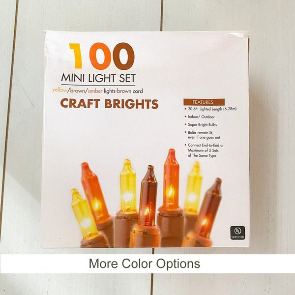 100ct Craft Bright Lights