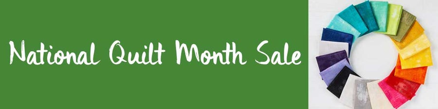 National Quilt Month Sale