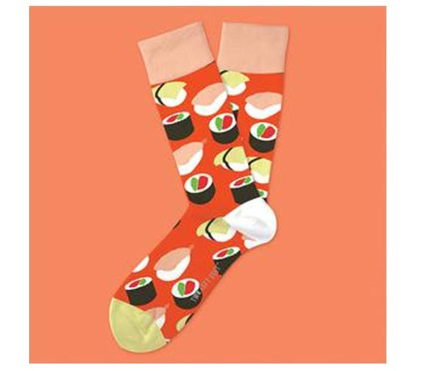 Two Left Feet- Sushi Yum Yum Sock (Choose from Two Sizes)