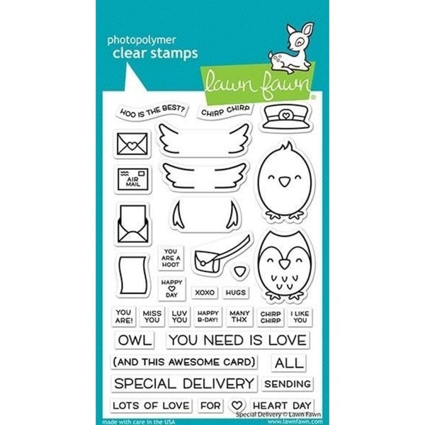 Lawn Fawn Special Delivery Clear Stamps