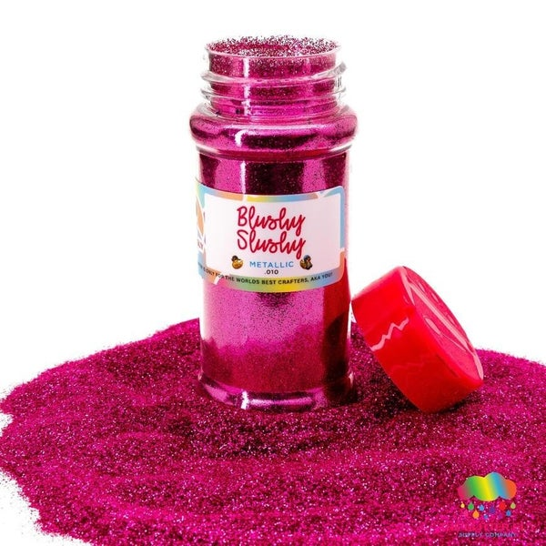 Blushy Slushy Fine Glitter - The Glitter Guy