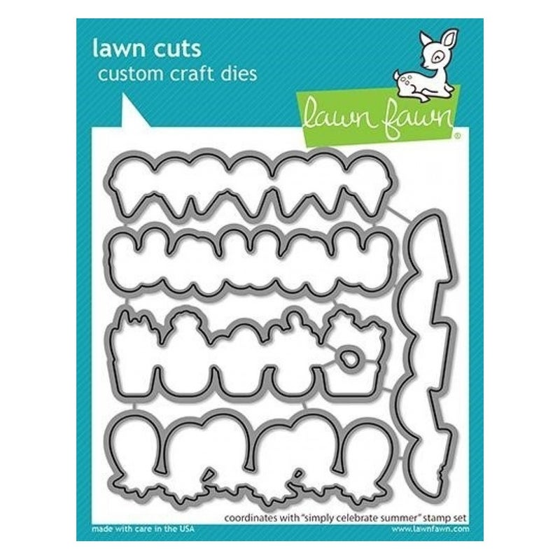 Simply Celebrate Summer Die Cut, Lawn Fawn