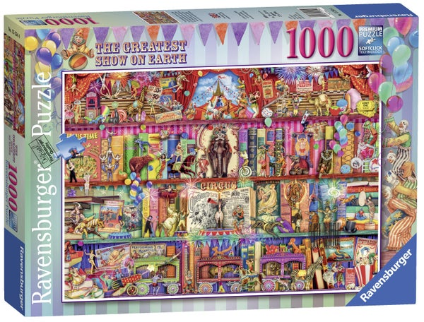 The Greatest Show on Earth 1000 Pieces, Puzzle