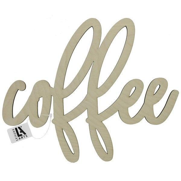 Coffee Wood Word