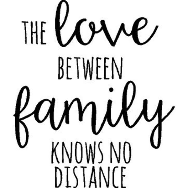 Rub-On Vinyl- The Love Between Family