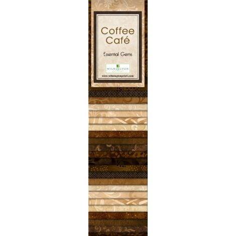 Quilting Strip Packs- Essential Gems, Coffee Cafe