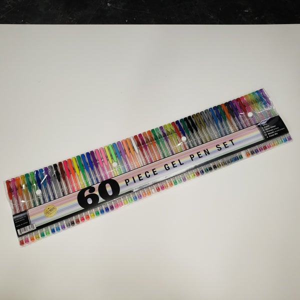 Gel Pen Set - 60 Piece