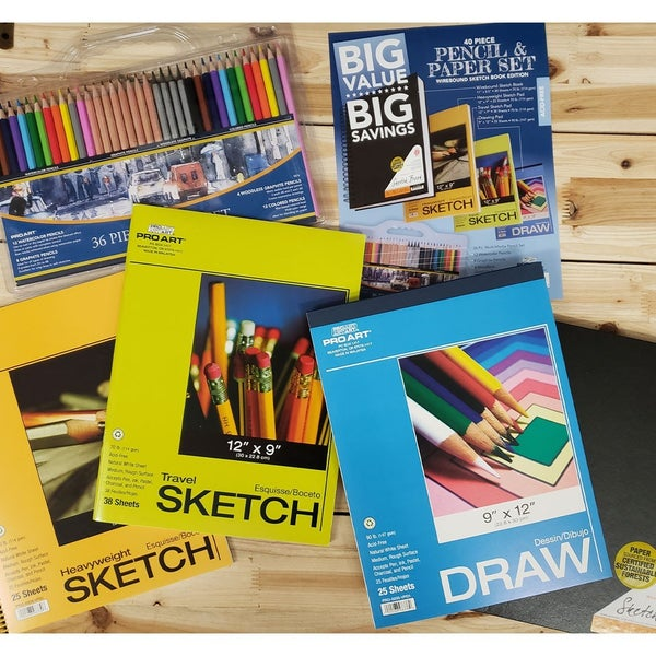 Big Value Drawing & Sketch Bundle #1