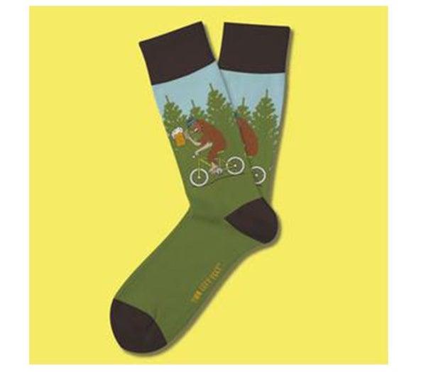 Two Left Feet- Drunken Sasquatch Sock (Choose from Two Sizes)