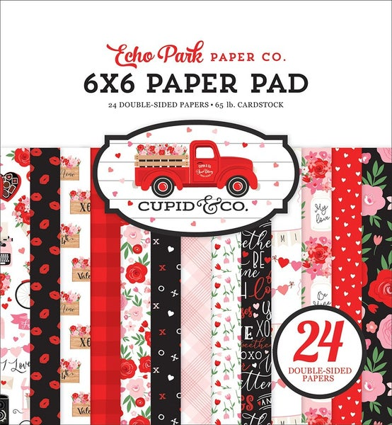 Echo Park - Cupid and Co. Collection - 6 x 6 Paper Pad