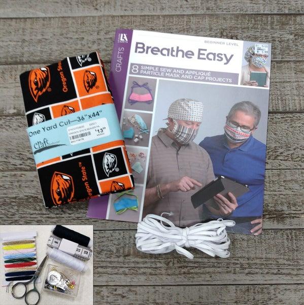 Mask Bundle Kit, Oregon State Beavers